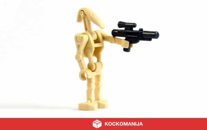 Minifigura Bojnega Droida B1
