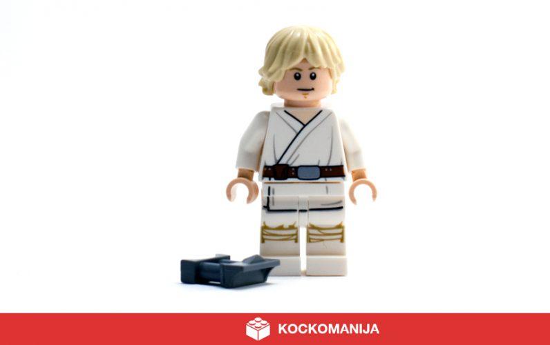 Minifigura Luke Skywalker v beli obleki