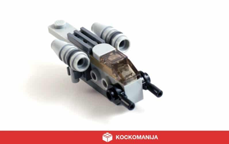 LEGO Mini model Razor Crest iz Mandaloriana