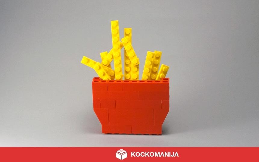 Pomes Frites iz LEGO kock