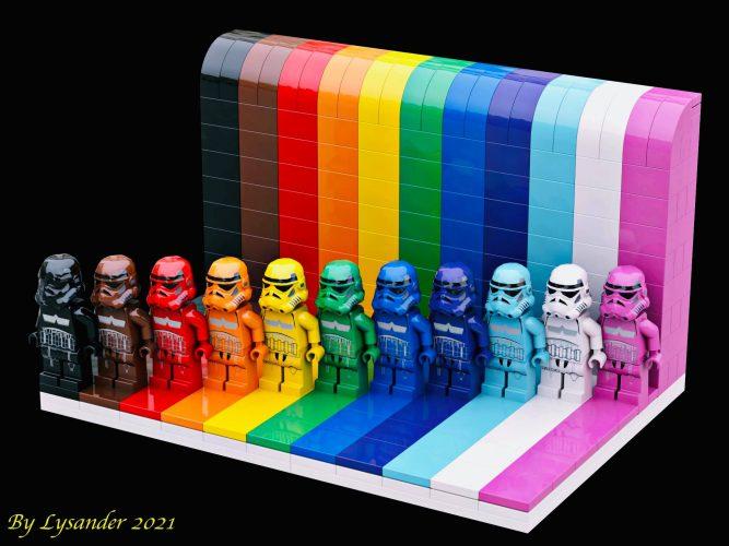 LEGo Stromtrooper različnih barv