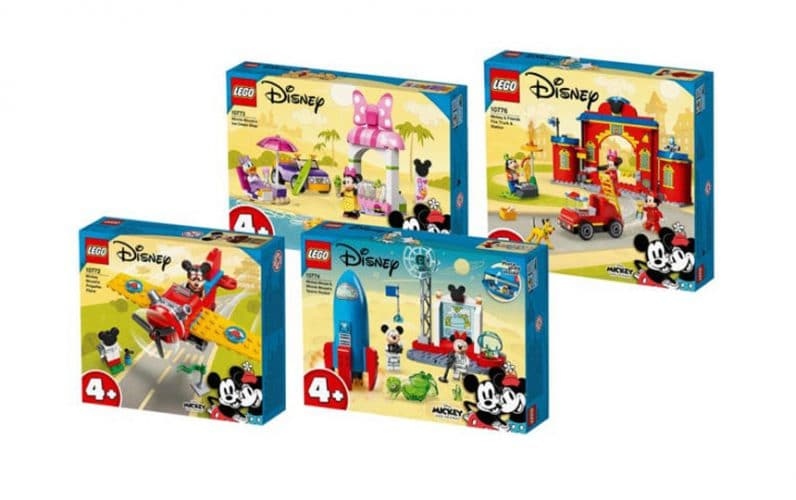 Škatle s kockami za LEGO Disney Miki miška in prijatelji