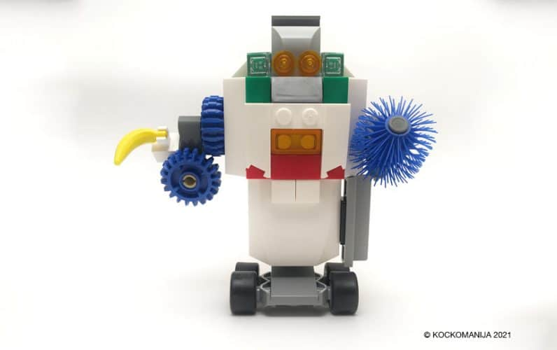 Mutantski transforemr robot iz lego kock