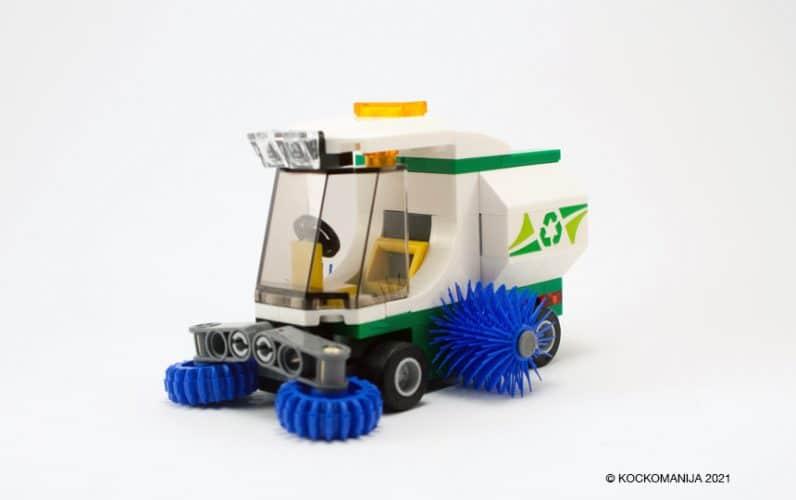 Cestni pometač iz lego kock