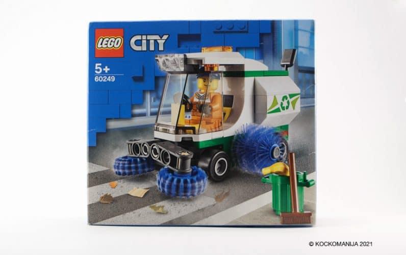 Kartonasta embalaža LEGO set 60249 cestni pometač