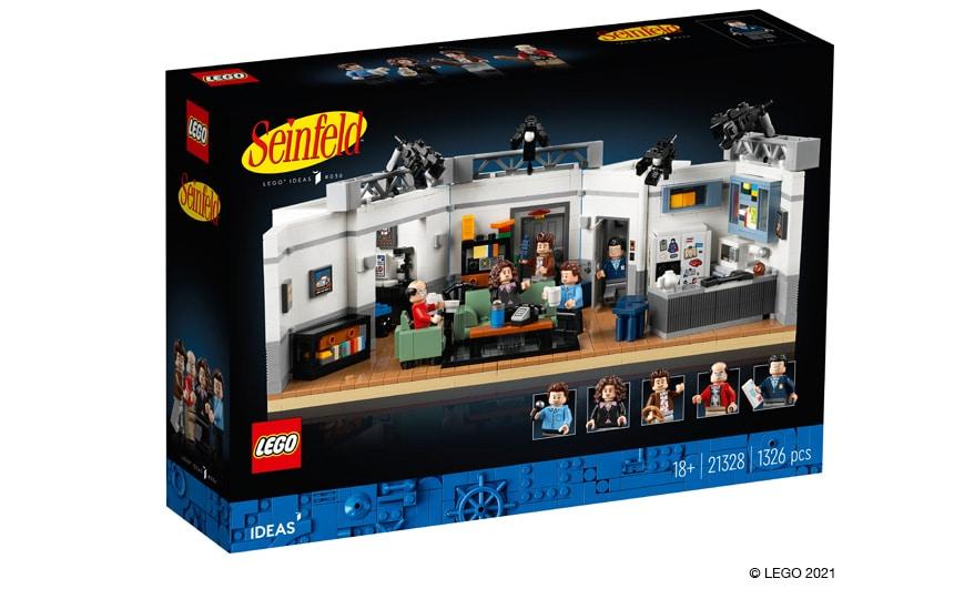 LEGO 21328 Ideas Seinfeld škatla