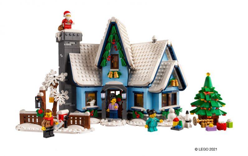 LEGO 10293 Bozickov obisk Hišica iz kock