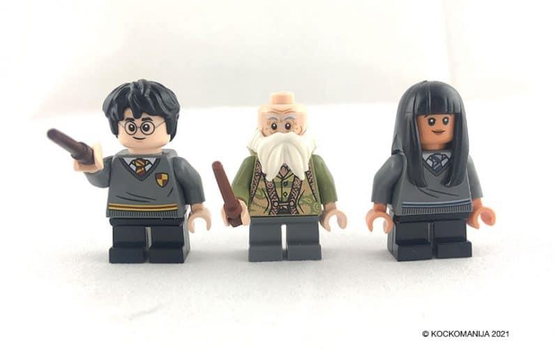LEGO minifigura Harry Potter profesor Colibri in Cho